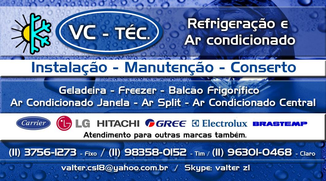 VC-Téc refrigeração e ar condicionado