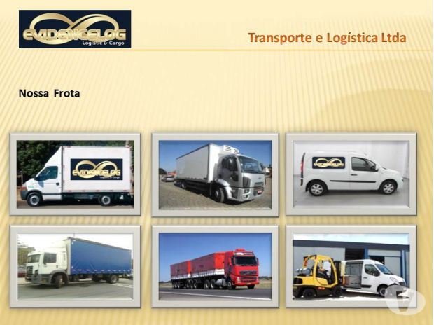 Evidence Log Transporte & Logística