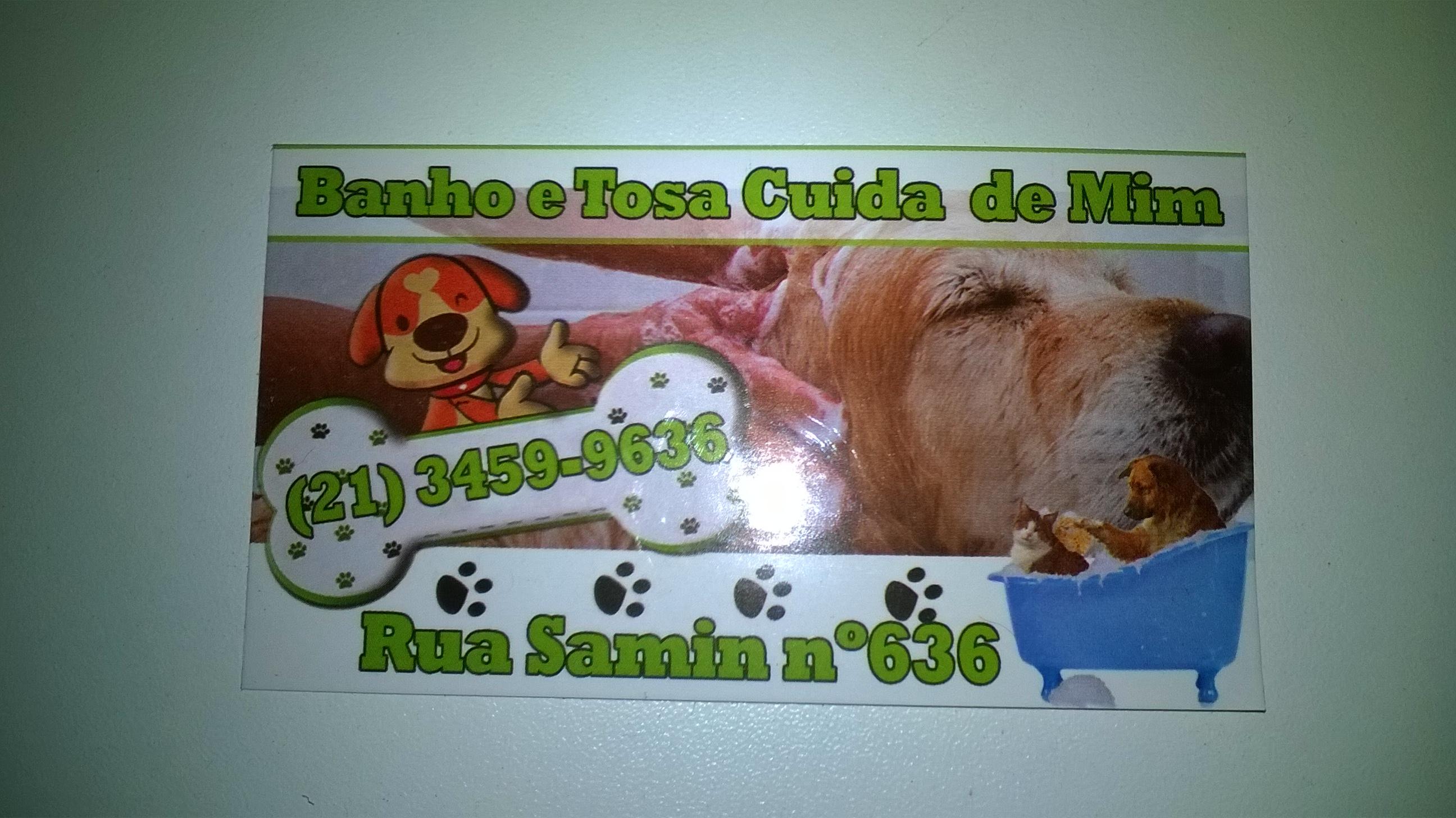 BANHO E TOSA CUIDA DE MIM