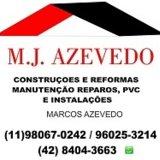 MJazevedo Construçao e Reforma